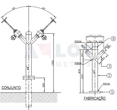 Hidrante Industrial Tipo Y