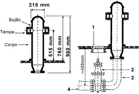 Hidrante de Coluna Urbano DN-75 / DN-100